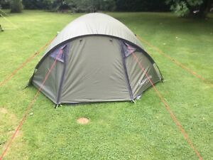 EUROHIKE RYDE 2 MAN DOME TENT NEW IDEAL FOR BACKPACKING FESTIVAL BIKER ETC