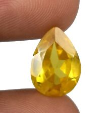 Srilankan Yellow Spinel Pear Gemstone 10.30 Ct Natural Untreated Certified X9604