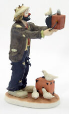 "Emmett Kelly JR ""Watch the Birdie"" photographer figurine - Flambro #10044, MIB"