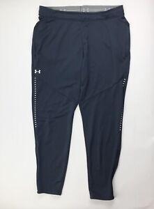 Under Armour Knit Qualifier Warm Up Pant Women's XLT Gray Zipper Pockets 1327445