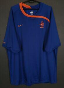 MENS NIKE NETHERLAND HOLLAND 2008/2010 FOOTBALL SOCCER SHIRT JERSEY SIZE 2XL XXL