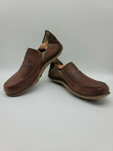 Cushe Brown Surf Slippers Drive Slip On Shoes Men's Size 10