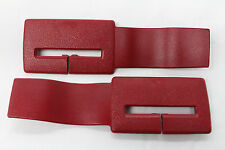 Camaro/Firebird Seat Belt Headliner Upper Trim Red Pair New Reproduction