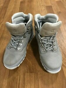 Timberland boots model A197J4917 grey silver genuine suede women's size 38