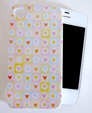 Handy Cover Herz*Case*Schutzhülle*Handyschale* Herzen pastell süß* iPhone 5*OVP*