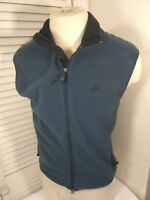 Nike ACG 2, Women's, Full Zip,  Medium, Blue/Black, Thermal Layer Fleece Vest