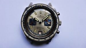 MICHEL HERBELIN Chronautic Yachting Star 200 vintage diver watch chronograph
