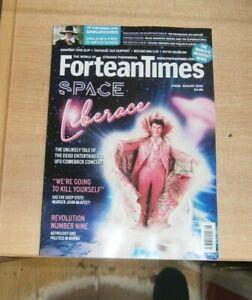 Fortean Times magazine FT408 Aug '21 Grimsby Time Slip, Tintagel Sea Serpent &