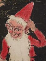 Prosper Studies (1895-1969) Pastel Original 1920 Fernand CORMON Newborn IN Caen