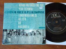 CHOEUR DE L'E.P.I KIMPESE Belgian Congo Swedish EP Sirius Christian Choir Africa