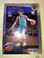 2019-20 NBA Hoops Premium Stock Tribute #297 Ja Morant RC Memphis Grizzlies