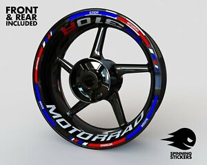 """Wheel Stickers for BMW G310R Rim Tape Motorcycle Decals Graphics 17"""""""