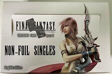 Final Fantasy TCG Trading Card Game Opus 1 NON-FOIL Singles Legend Hero Rare Com