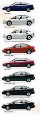 Big 1996 Plymouth NEON Brochure / Catalog with Color Chart: HIGHLINE,SPORT,Coupe