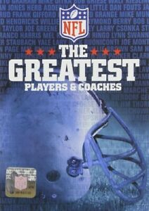NFL Football The Greatest Players & Coaches DVD
