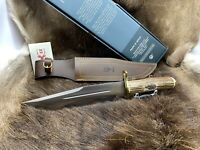 "Muela 14"" Magnum Stag Fixed Blade Bowie Hunting Knife & Sheath Mint Box - 23"