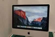 """Apple Imac 20"""" A1224 M 2007 2.0GHZ 2GB 2400 XT  250GB HDD OSX 10.11.6 /224"""