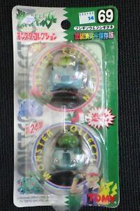 POKEMON TOMY BULBASAUR & IVYSAUR FIGURE POCKET MONSTER #69 NEW JAPAN VERSION