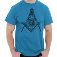 Freemason Symbol Illuminati Creative Geometric Graphic Classic T Shirt Tee