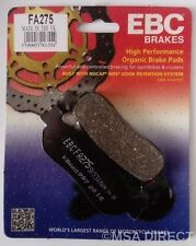 Yamaha YZF R6 (1999 to 2002) EBC Kevlar REAR Brake Pads (FA275) (1 Set)