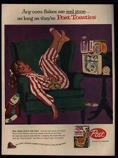 1958 POST TOASTIES - DICK SARGENT Art - Wrestling - Curious George VINTAGE AD