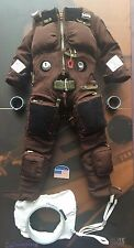 DAMTOYS SR-71 Oiseau Noir Flight Test Ingénieur Marron S901J Costume loose échelle 1/6th