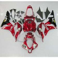 Red 155 ABS Injection Fairing Bodywork Kit For Honda CBR600RR F5 2007 2008
