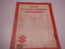 1978 suzuki wiring diagrams rm80 rm50 rm400 ts250 gs1000 gs750 rm ts gs pe  jr 78