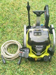 RYOBI 36v brushless pressure washer 1800psi water blaster sydney pickup