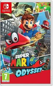 Super Mario Odyssey - Nintendo Switch Nuovo Sigillato Italiano