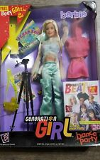 Mattel Barbie Doll Generation Girl Barbie  Doll & Accessories Dance Party camera