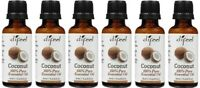 5 Pack Difeel 100% Pure Coconut Essential Oil 1 oz Each