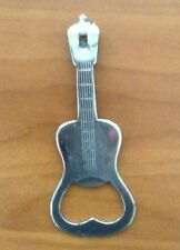 Decorative Bottle in the shape of a Guitar Stainless Steel Made In Japan