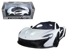 MotorMax 1:24 McLaren P1 Diecast Model Car White 79325
