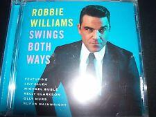 Robbie Williams Swing / Swings Both Ways (Australia) CD - New