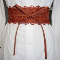Corset Lace Tie Obi Cinch Waistband Belts For Women Wedding Dress Jian