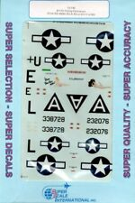 SuperScale Decals 1:72 B-17G Flying Fortresses 851st BS 490th BG #72-749