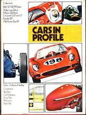 CARS IN PROFILE 1 HBDJ FERRARI_LAGO-TALBOT_REPCO-BRABHAMS_CHAPARRAL_PORSCHE 917