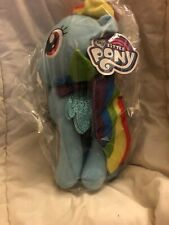 "Rainbow Dash MLP 11"" Plush With Tags Still In bag"