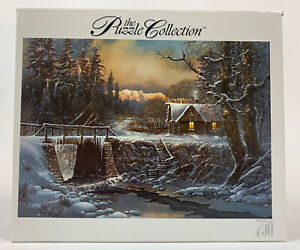 Roseart 2003 The Puzzle Collection 750 Piece Three Little Bucks Cabin New Sealed