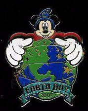 Disney Pin 53375 WDI Sorcerer Mickey Mouse Earth Day 2007 Fantasia LE 300 *
