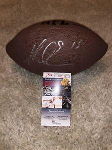 MIKE EVANS SIGNED NFL FOOTBALL TAMPA BAY BUCCANEERS WR PRO BOWL RARE JSA 6