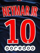 2018/19 Paris Saint Germain # 10 NEYMAR JR HOME SOCCER Name Set