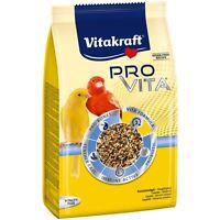 Vitakraft Pro Vita, Kanarienvogel Futter - 800g - Vogelfutter Kanarien Vögel