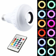 RGB Remote Control LED Light Integrated Bluetooth Speakers Wireless Stereo Audio