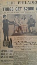 MAR 14, 1931 NEWSPAPER PAGE #J7004- SIDE-SHOW SCENE AT THREE-RING CIRCUS