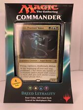 Magic the Gathering: Commander Deck--BREED LETHALITY (2016).  New/Sealed.