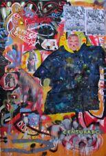 Gerardo Gomez Salvador no Erro no Basquiat no Kokian grand format en rouleau