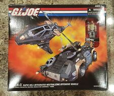 GI JOE R.H.I.N.O. RHINO 2005 DTC online exclusive with Cannonball MIB NRFB