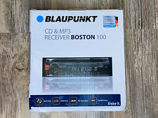 Blaupunkt Boston100 Single Din Cd/Mp3 Receiver Usb/Sd/Aux Brand New Sealed Box